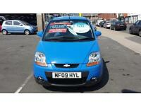 2009 CHEVROLET MATIZ 0.8 SE Automatic 5 Door From GBP3495 + Retail Package