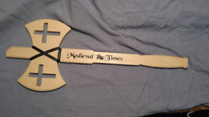 Midieval Times Decorative Wood Axe
