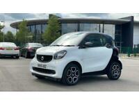 2015 smart fortwo coupe 0.9 Turbo Prime Premium 2dr Auto Small petrol Automatic