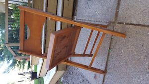 Antique Childs wooden folding chair Kawartha Lakes Peterborough Area image 2