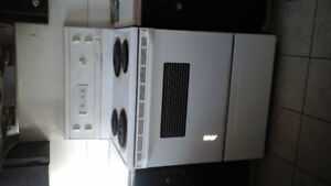 house demolition, three stoves for sale