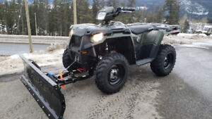 New 2018 Polaris Sportsman 450 HO & Snow Plow Package!!