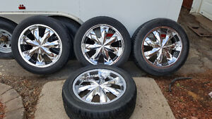 20in RIMS FOR JEEP WRANGLER/SANTA FE AND MANY MORE...