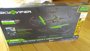 Sky Viper v2400 HD Streaming Video Drone with Bonus Battery