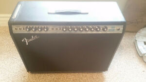 1970s Silver Faced Fender Twin Reverb Guitar Amplifier Re Capped