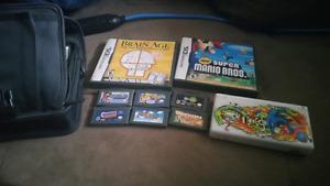 Nintendo ds +  bunch of games