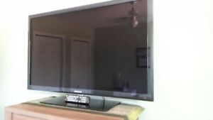 Samsung LED 46 inch t.v. with remote. NOT smart t.v.