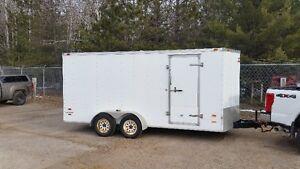 enclosed trailer / cargo / toy hauler / 16'x7'