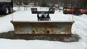8 ft Air flo straight snow plow