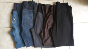 Maternity Clothes - Pants (10 pairs) S, M, L
