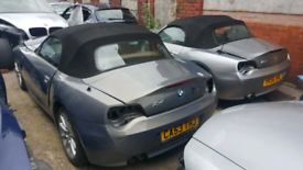 Various bmw z4 breaking all engine sizes
