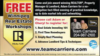 Winnipeg Real Estate Seminars