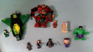 LEGO MARVEL AND DC SUPER HEROES FIGURES & BULK LEGO