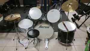 Baron drums with led zeppelin sticks
