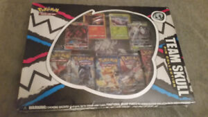 BRAND NEW (IN PACKAGE) TEAM SKULL POKEMON PIN COLLECTION