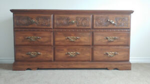 Dresser - 9 drawers - For Sale