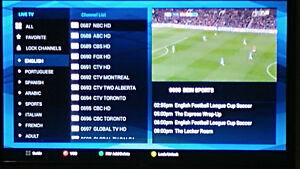 iptv box with 3 months subscription watch MOVIES SPORTS SHOWS !