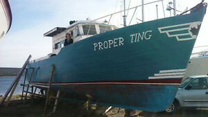 52' offshore Fishing Boat
