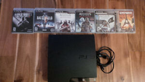PS3 with Original Box and games Oakville / Halton Region Toronto (GTA) image 1