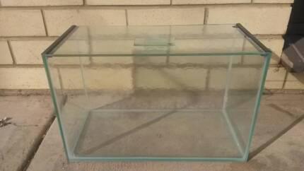 AQUARIUM FISH TANK small made from glass SMALL