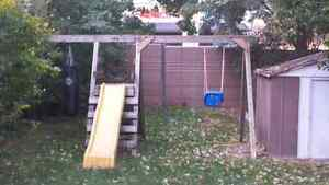 FREE WOODEN PLAYSET