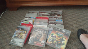PS3 Bundle - Controllers Games PS Mov can also be sold seperate