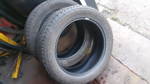 Two 265/50r20  used tires