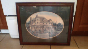 Collectable Lithograph (Brittanys Doll House) $80