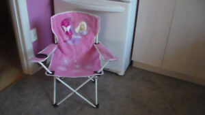 Chaise pliante Barbie et sac de transport