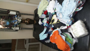 HUGE LOT 0-9 month Boys Clothing