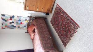 Furnished room with house privileges