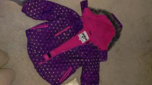 Girls size 4 winter jackets