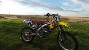 (Reduced for quick sale) 2013 suzuki rmz450