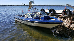 1987 Thundercraft 16 ft Bowrider 140Hp With Trailer