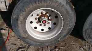 Various tires and rims for sale Air ride suspensions and axles