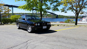 1989 BMW 535i 5 speed 3.5 ltr In line 6