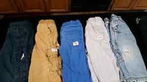 Baby boy pant lot 12-18 m 9 pants total
