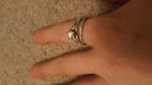 Beautiful sterling ring size 8