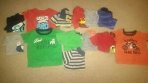 huge lot of baby boys clothes