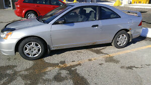 2001 Honda Civic Coupé (2 portes)