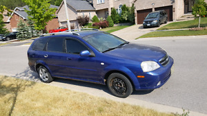 2005 Chevy optra wagon AS IS