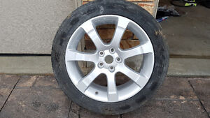 """18"""" rim with tire from 2007 Nissan Maxima -- NEW, NEVER USED"""