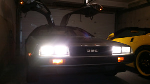 Delorean for Video/Picture Shoots (with Flux Capacitor)