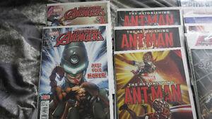 small lot of comic books