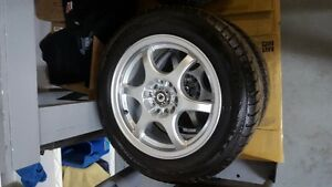 205/60/15 winters on konig alum wheels used 1 season