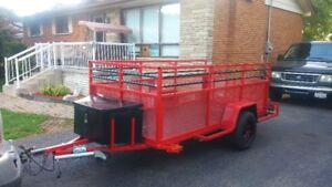 5x10 heavy duty utility trailer