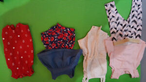 Baby girl 0-6 month clothes. Lots for summer!