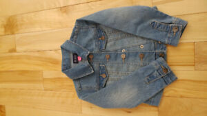Girls Jean Jacket, Children's Place, XS (4/5)