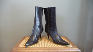 Cole Haan Ankle boots - Italian made - Chocolate Brown 10.5M
