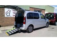 2012 Peugeot Partner Tepee Manual Diesel Wheelchair Accessible Vehicle